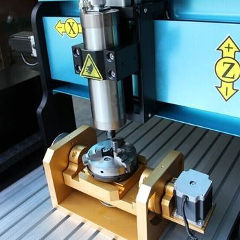 Hobby 1500W 5-axis cnc router 6040