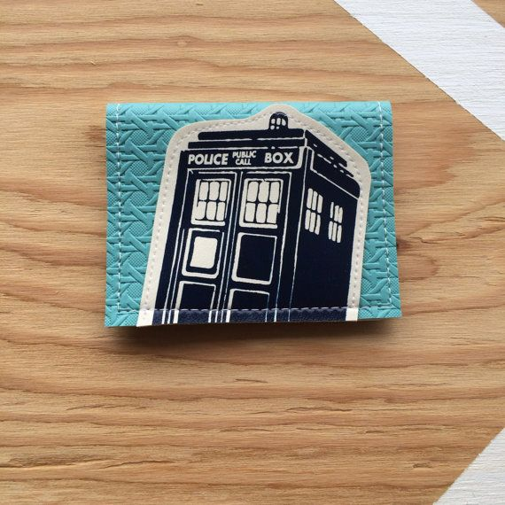 Perfect for the Whovian in your life! This #DoctorWho TARDIS wallet will keep your money safe in all your adventures through time and space. #MakeItEdmonton