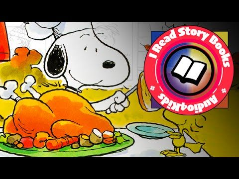 It's Thanksgiving Charlie Brown Read Aloud Along Audio Story Book for Ch...