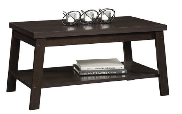 Mainstays Logan Coffee Table Home Furniture Living Room Espresso Finishes Coffee Table Coffee Tables For Sale Coffee Table Wood Living room table for sale