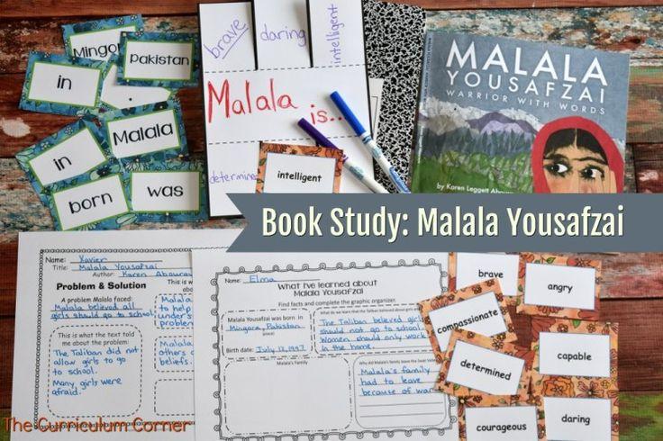 Focus on Malala | Book study, Malala yousafzai, 4th grade ...