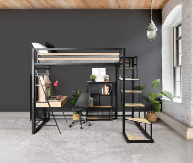 mezzanine 140x200 cm marley style