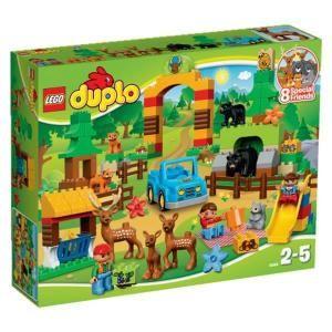 49 cdiscount lego duplo 10584 le parc de la fort 105 pices