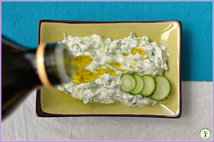 Greek tzatziki recipe