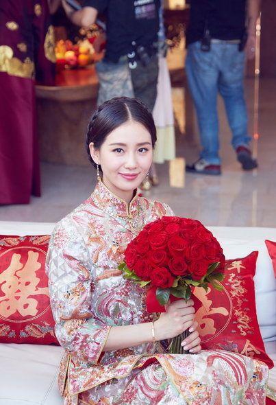 Nicky Wu and Cecilia Liu Shishi wedding