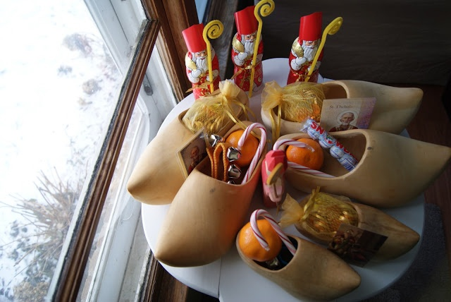 nest full of eggs: Saint Nicholas Day