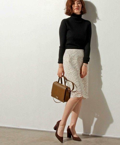 UNITED ARROWS WOMENS()の○UBMF コードレース タイト スカート †(スカート)|詳細画像