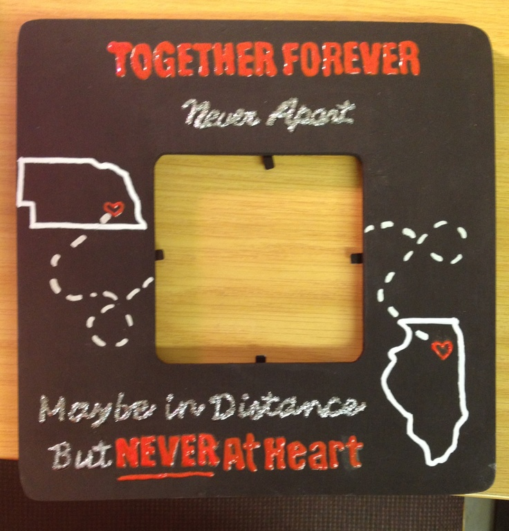 long distance relationship 5983 miles apart together in heart