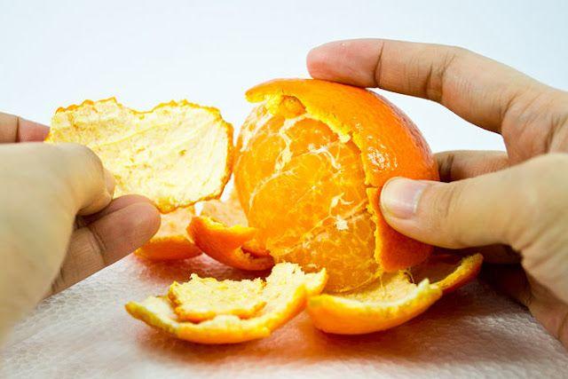 Gooi sinaasappelschillen niet weg