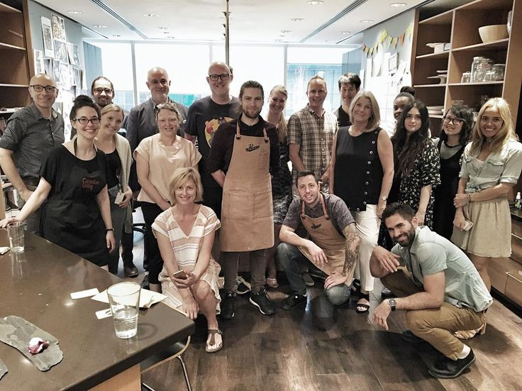 The best time with the best peeps @canadianliving thanks for having us in your super rad testing kitchen! #collaboration #newfriends #somethingmore