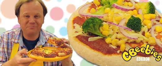If you're looking for an easy recipe for children then look no further! Justin Fletcher from Something Special shows you how to make a pizza. Your child can help with the preparation and learn about food!