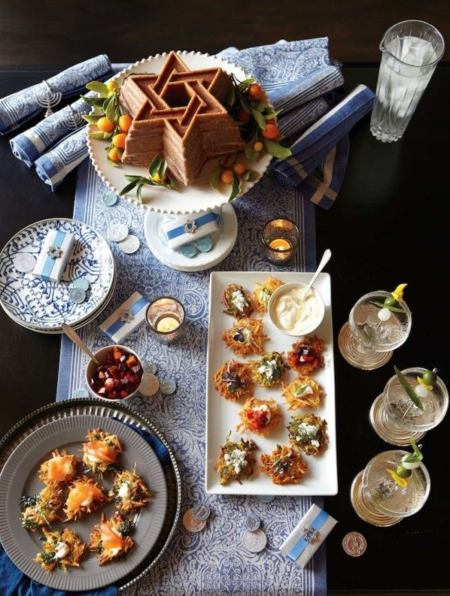 This year we're celebrating Hanukkah with a creative twist on tradition: a vodka and latke party.