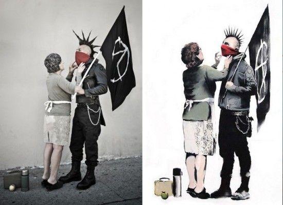 #banksy dans la vrai vie by Nick Stern