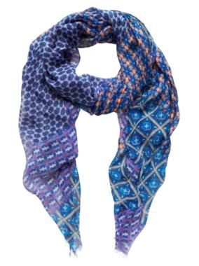 Sussan - Accessories - Scarves - Flame mosaic scarf