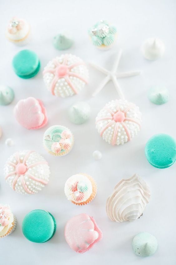 Gorgeous sweets from a Majestic Under the Sea Birthday Party on Kara's Party Ideas   KarasPartyIdeas.com (6)