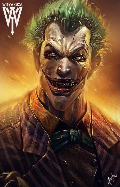 The Joker by wizyakuza #Gotham villains