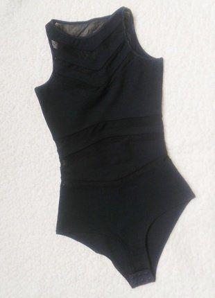 Kupuj mé předměty na #vinted http://www.vinted.cz/damske-obleceni/body/16985579-cerne-polopruhledne-body-bodycko-tally-weijl-xxs