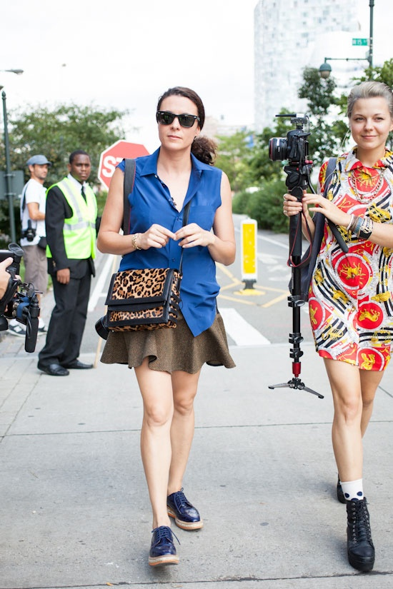 Garance Dore New York Fashion Week Ss13 Street Style Details Style Pinterest