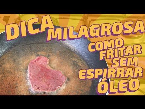 Dica milagrosa: Como fritar qualquer coisa sem sujar o fogão com óleo | SOS Solteiros