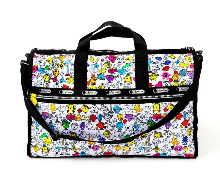 Mr. Men Little Miss x LeSportsac Large Weekender: Multi-Character Print