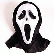 Маски на Хэллоуин Призрак Страшные Крик Товары для отпуска Halloween / Маскарад 1PCS 2 Color Selected