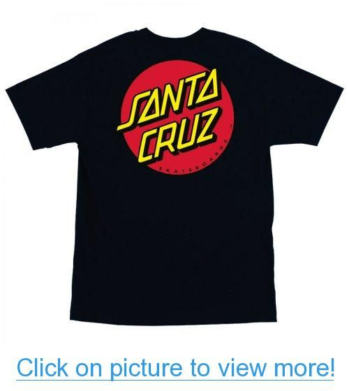 Santa Cruz Men's Classic Dot Regular T-Shirt