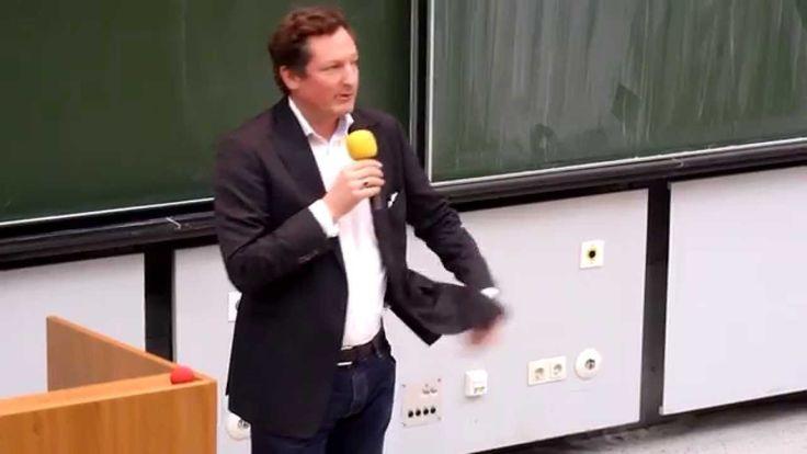 Krebsforum -Dr. Eckart von Hirschhausen -Humor hilft heilen TEIL 1