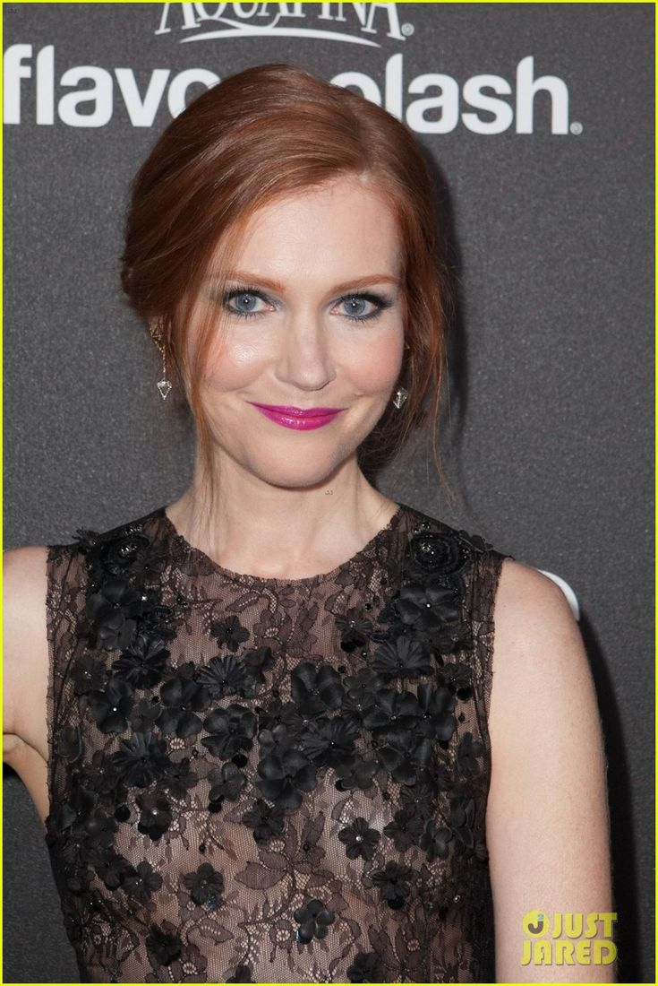 Katie lowes long wavy casual hairstyle thehairstyler com - Darby Stanchfield Hfpa Instyle Party Anna Gunn Columbus Short Dan Bucatinsky
