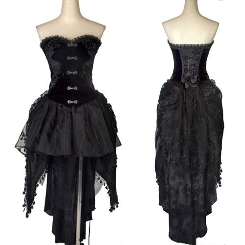 1000 images about costume gothic vampire on pinterest for Victorian corset wedding dresses