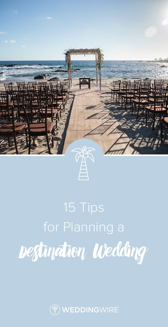 Wedding tips for destination weddings