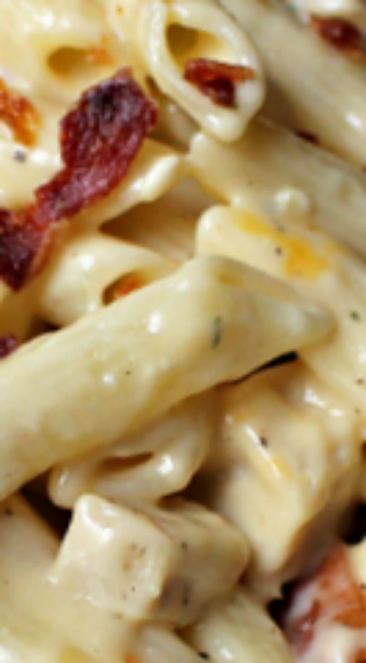 Chicken Bacon Ranch Pasta Recipe ~ A winner!