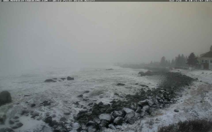 White Point Beach Webcam Feb 9/2013