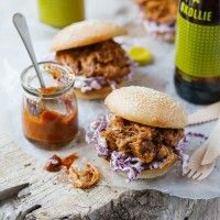 Tender BBQ Pulled Pork Sliders