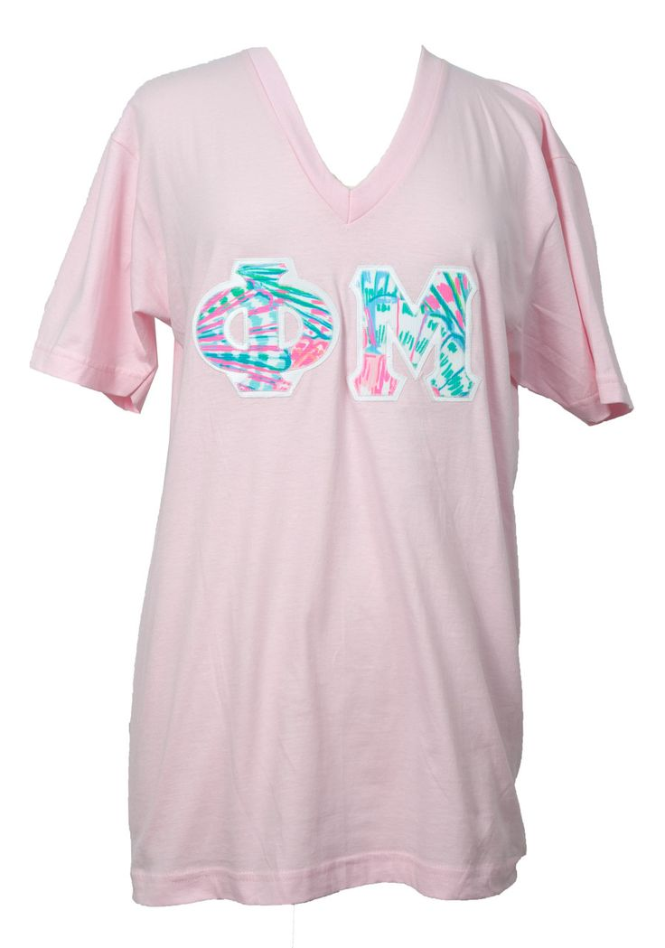 greek letters shirts 2 best 25 phi mu shirts ideas on apparel 22053 | 8fde6ab5a29cec058259d2ae74d5f4f4 sorority stitch letters phi mu