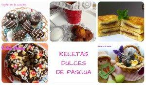 Torrijas, buñuelos, huevos de Pascua... descubre las recetas dulces especiales para Cuaresma, Semana Santa y Pascua que comparte en este post la autora del blog MAYTE EN LA COCINA.