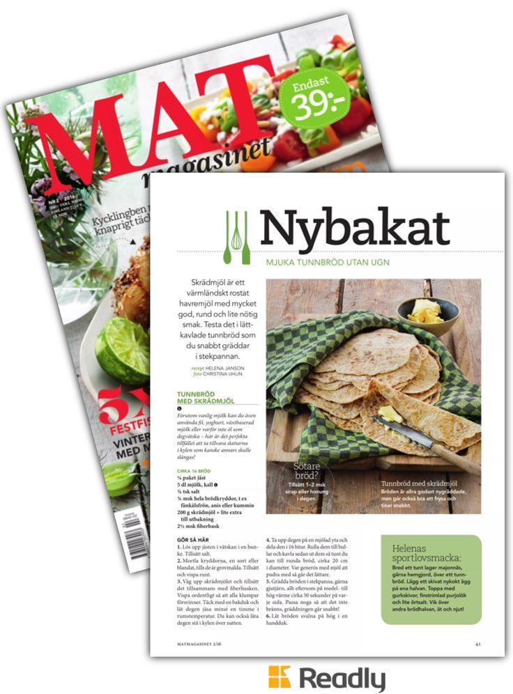 Tips om Matmagasinet 16-02 sidan 41