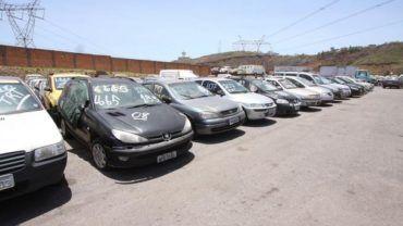 Leilão de carros DETRAN-MG