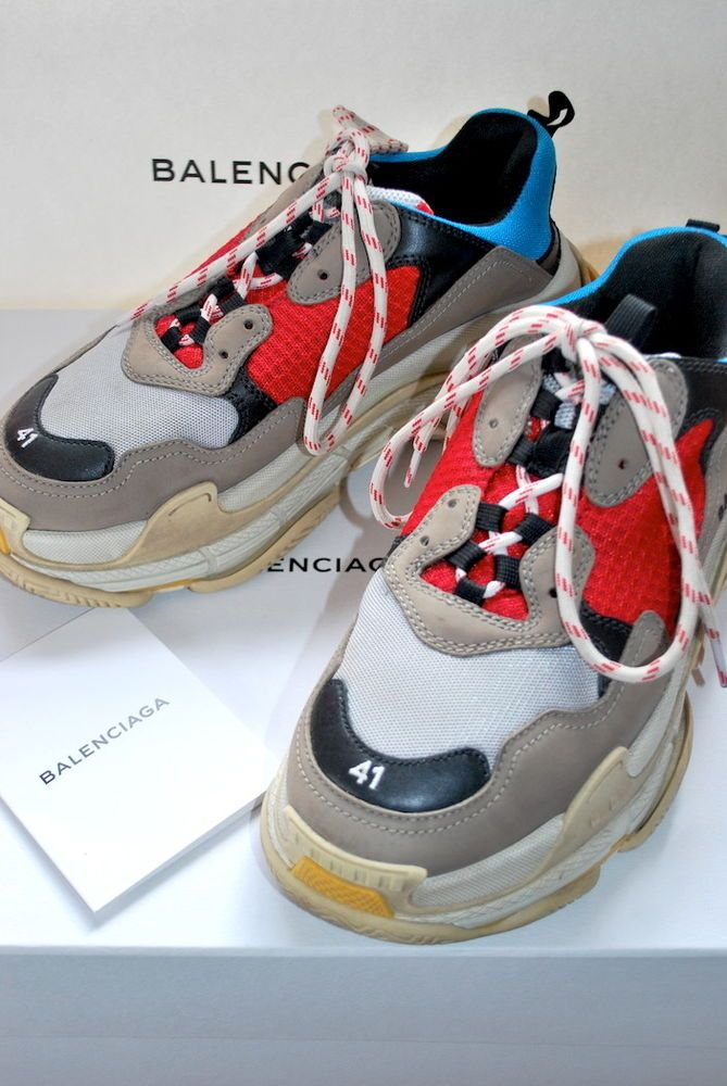 ada2a6a84b9f4 BALENCIAGA TRIPLE S V2  LEGO  TRAINERS UK 7.5 SNEAKERS 41 AUTHENTIC ...