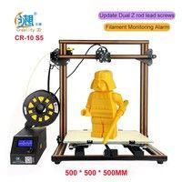 Wish   Creality 3D CR-10 3D Printer Large Prusa I3 DIY Kit Large DIY Desktop 3D Printer DIY Education CR-10 Series