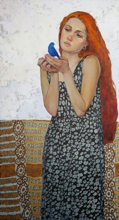 Blue Bird by Victoria Kalaichi, 2013