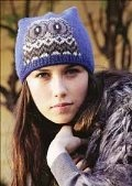 Intarsia Owl Hat from Colorwork for Adventurous Knitters, by Lori Ihnen