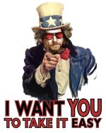 I Want You to Take it Easy - The Dudeism Printfection Store