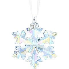 Now in its 25th year, Swarovski's beloved tradition of creating an Annual Edition Christmas Ornament continues with this stunning new snowflake... Shop now