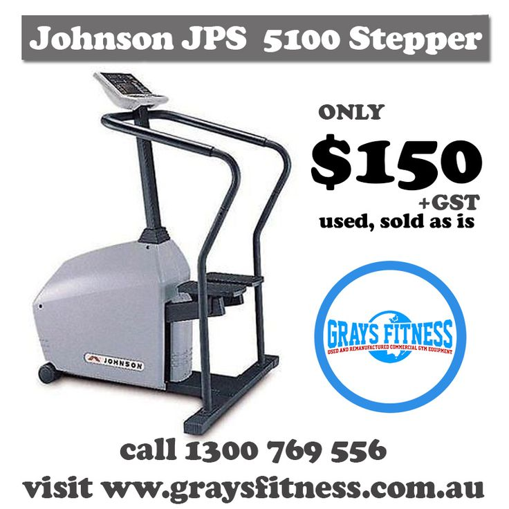 shop massively reduced used gym equipment! im melbourne, perth, adelaide, and Australia wide!!! #stepper #glutes #exercise #workout #thighworkout #cheap #gym #equipment #cardio