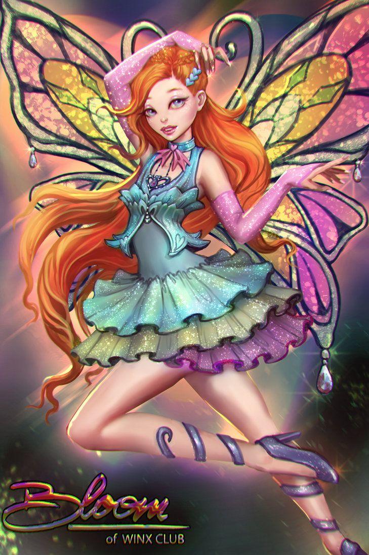 Les 984 meilleures images du tableau winx sur pinterest - Bloom dessin anime ...