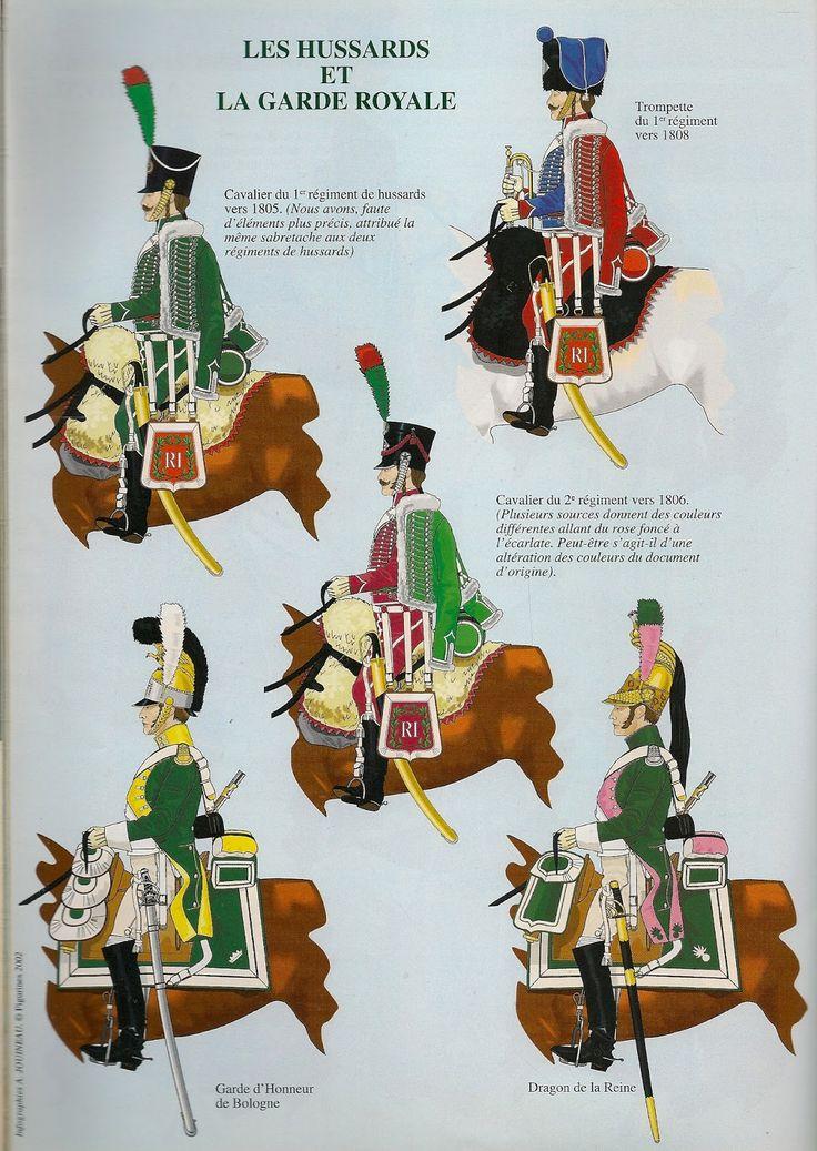 Ussari e Guardia d'onore di Bologna
