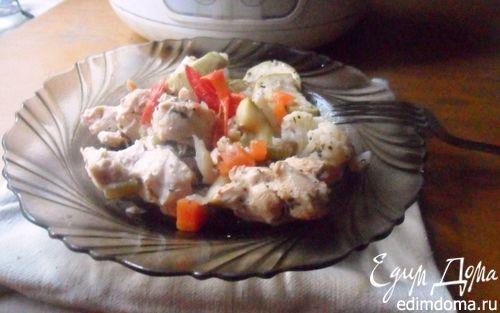 Курица с овощами  в мультиварке | Кулинарные рецепты от «Едим дома!»
