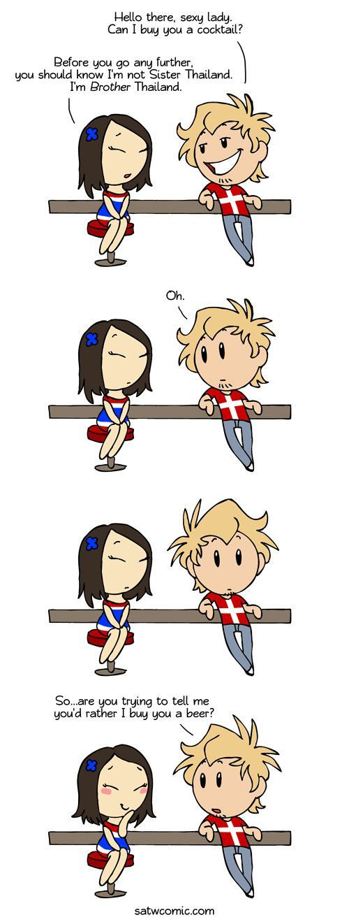 Denmark is my spirit country...because this is straight up how I would react.