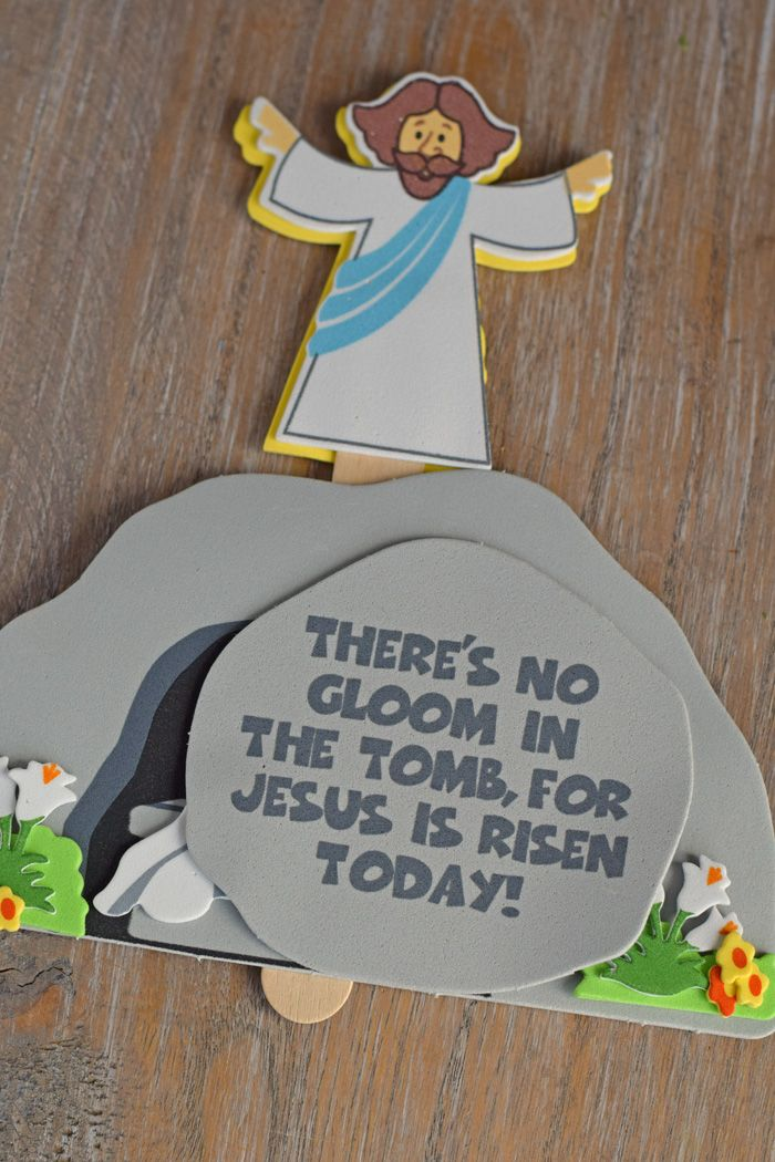 Jesus And The Tomb Craft For Kids At Easter Neat For
