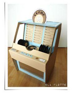 Jukebox ~ heel origineel, wel moeilijk te maken, maar dan heb je ook wat!